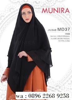 Hijab Munira MD 46 Koleksi jilbab syari terbaru dewasa