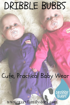 Dribble Bubbs Cute Practical Baby Wear