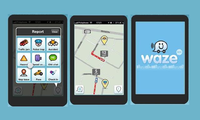 App Waze em Orlando
