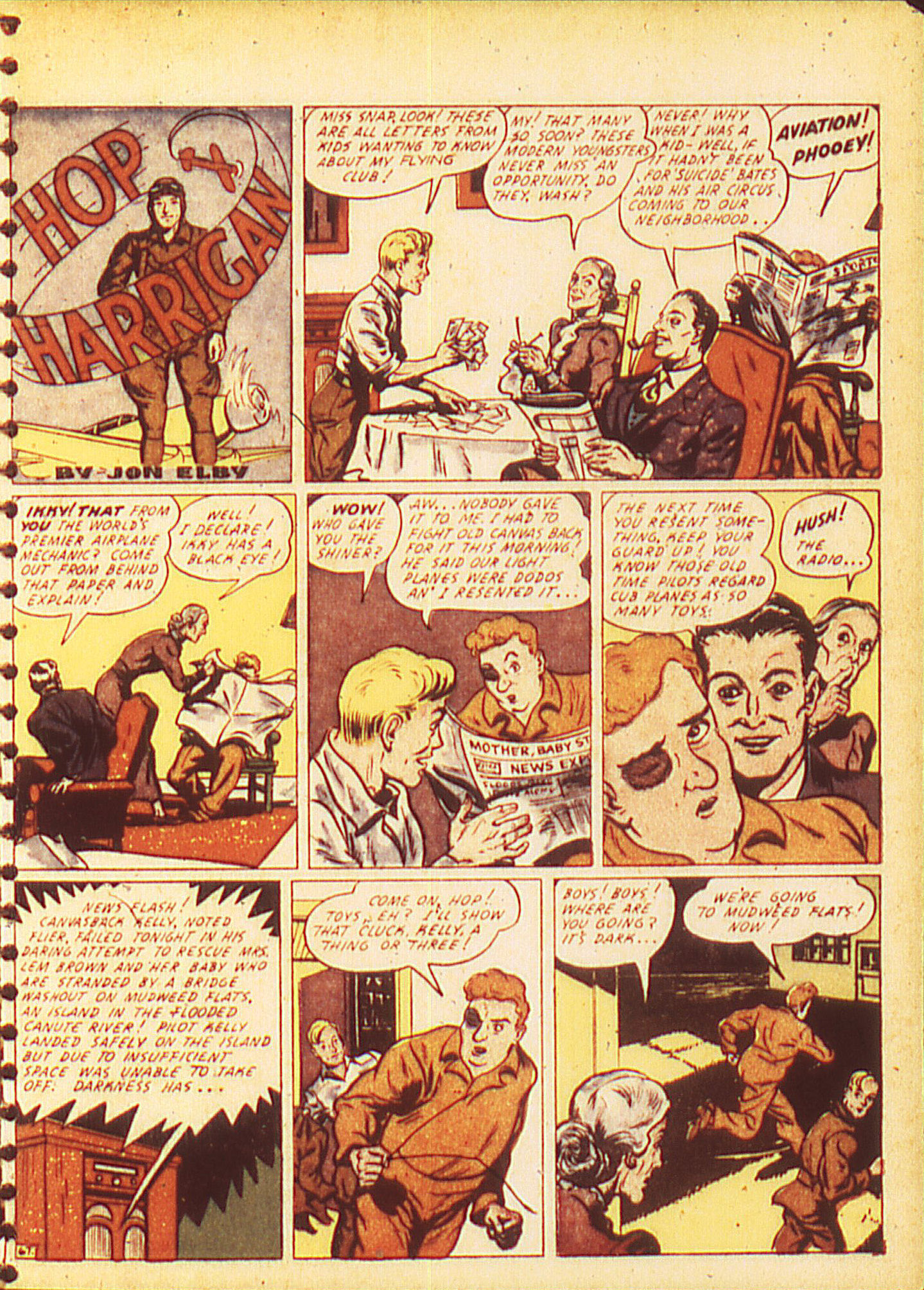 Read online All-American Comics (1939) comic -  Issue #16 - 11