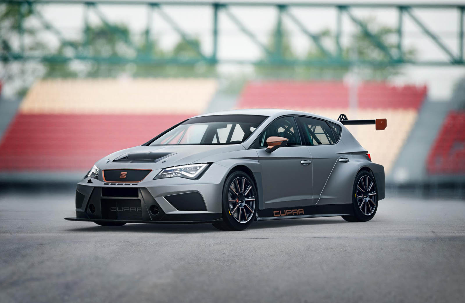 seat 39 s bringing this sick new leon cupra evo 17 racer to geneva. Black Bedroom Furniture Sets. Home Design Ideas