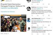 Metro TV: Gatot Nurmantyo Pimpinan Terburuk TNI, Warganet: Terburuk Untuk PKI