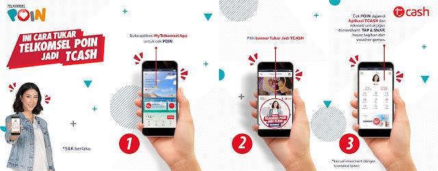 Tutorial Mendapatkan Diamond Gratis Menggunakan Aplikasi Tcash Wallet 9