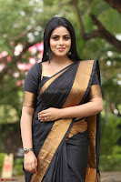 Poorna in Cute Backless Choli Saree Stunning Beauty at Avantika Movie platinum Disc Function ~  Exclusive 109.JPG