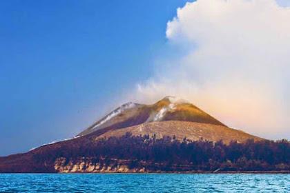 Gunung Anak Krakatau Membutuhkan Waktu Ratusan Tahun Untuk Meletus Seperti Induknya