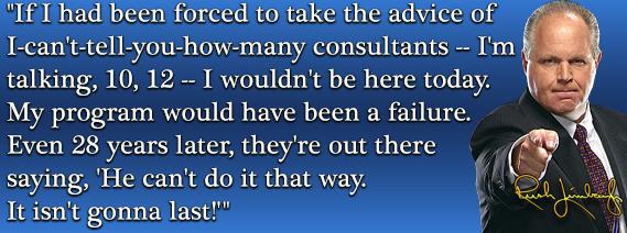 Media Confidential: Limbaugh: Politico Story
