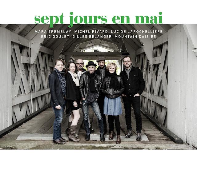 Sept jours en mai - crédit : Marie-Claude Meilleur - Festival de la chanson de Tadoussac