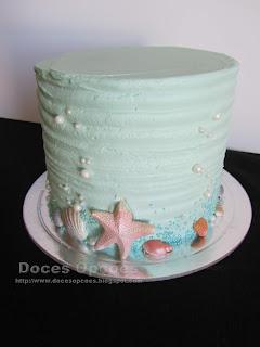 bolo estrela Mar