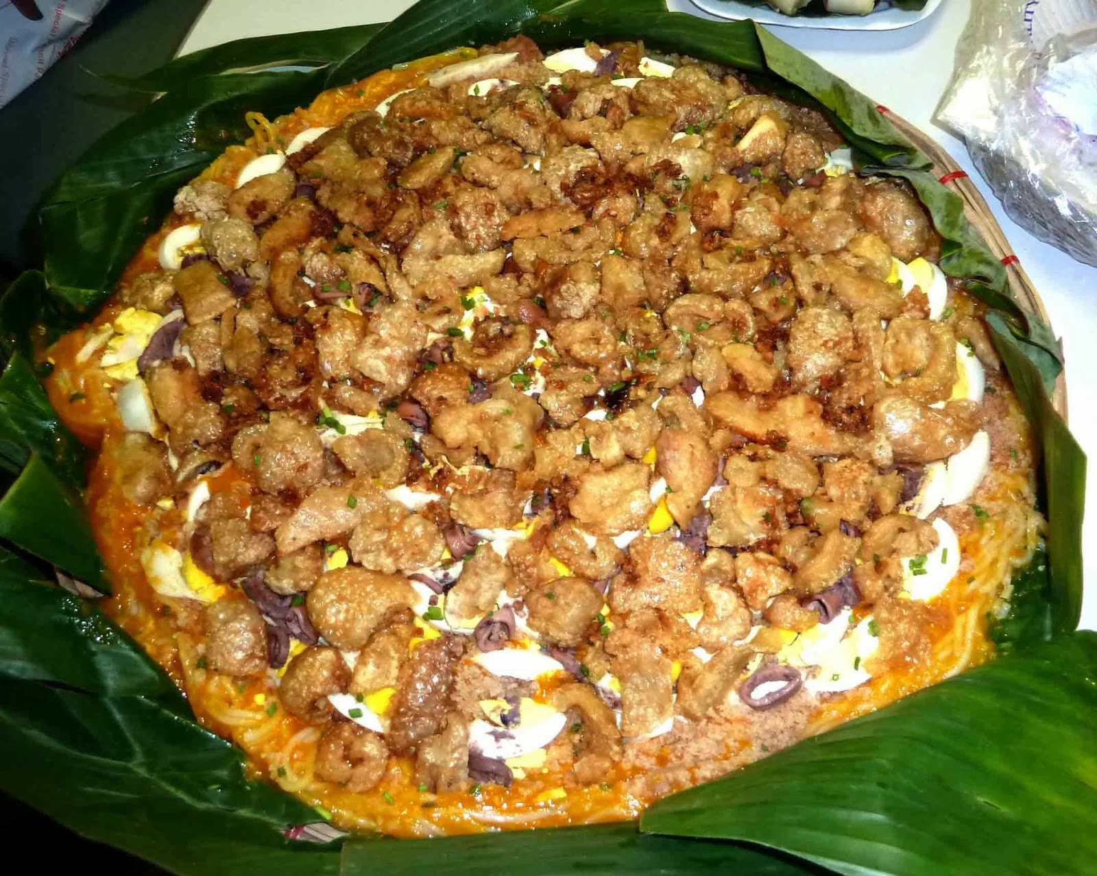 how to cook pancit malabon palabok