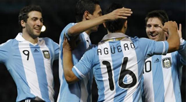 abrazo de gol - imagenes seleccion argentina de futbol