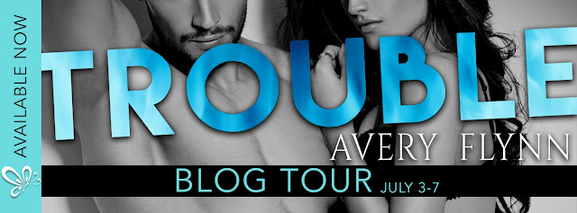 [Blog Tour] TROUBLE by Avery Flynn @averyflynn @jennw23 #UBReview