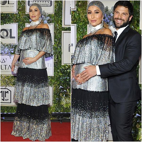 vestido sabrina sato grávida instituto neymar