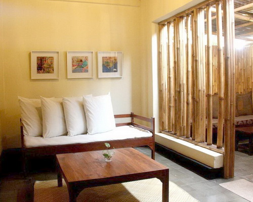 www.Tinuku.com Bamboo Bamboo Homestay impressive use bamboo materials into modern architecture as luxury decor