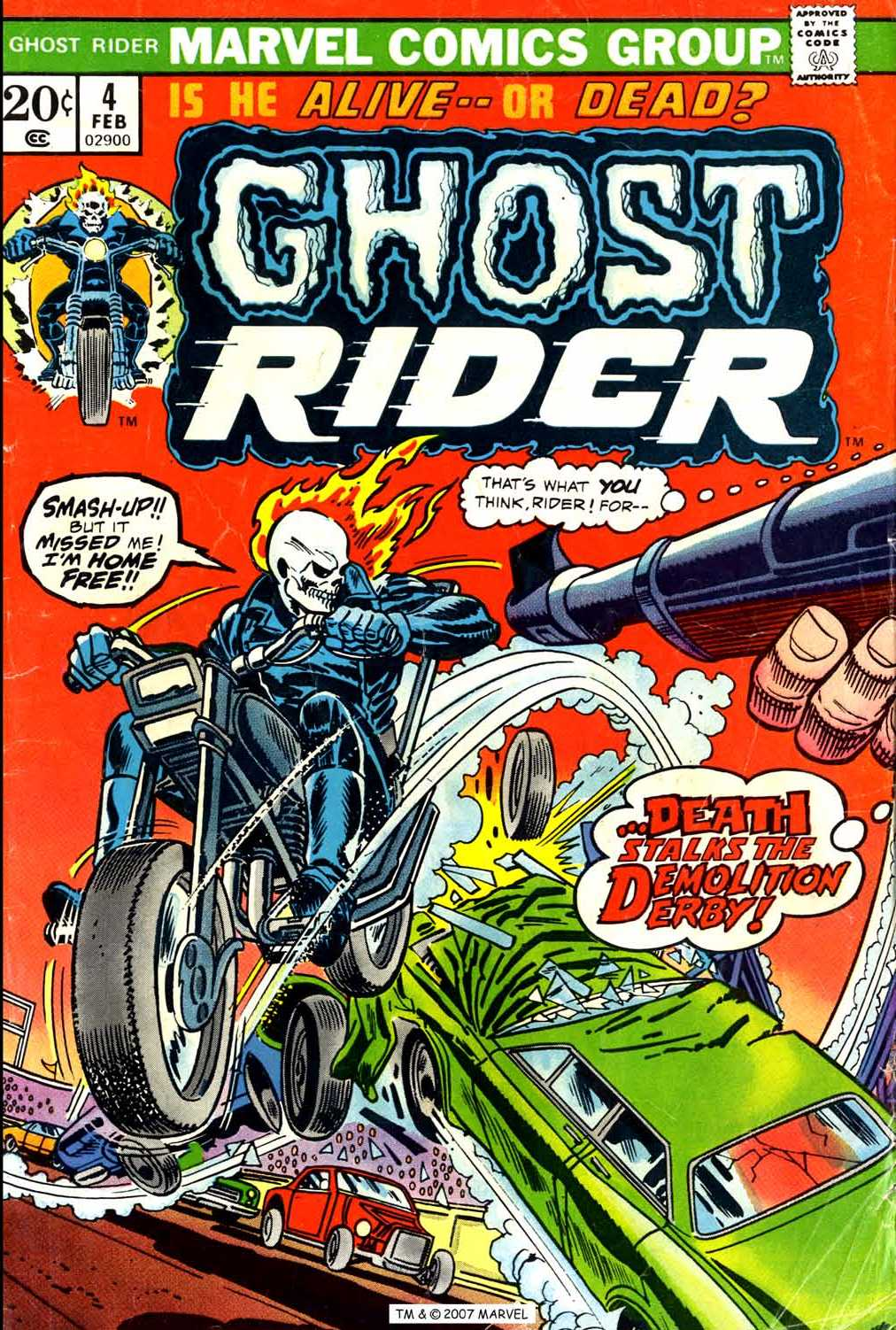 Ghost Rider (1973) issue 4 - Page 1