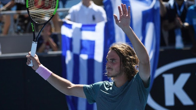 """Προκρίθηκε στους «4» του Australian Open ο """"μυθικός"""" Στέφανος Τσιτσιπάς"""