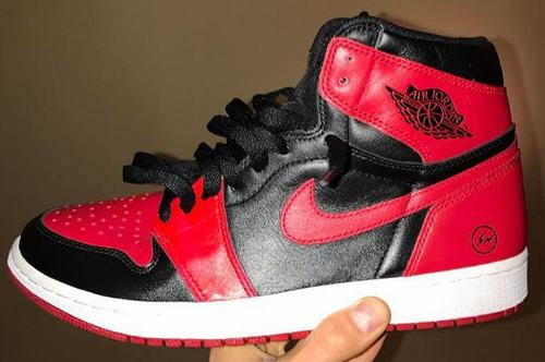 e0a1fe321ebb Double black and red clip design X Air Jordan 1 OG high has been hovering  in our line of sight