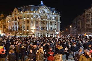 FOTO: Protest Timisoara - 01 februarie 2017