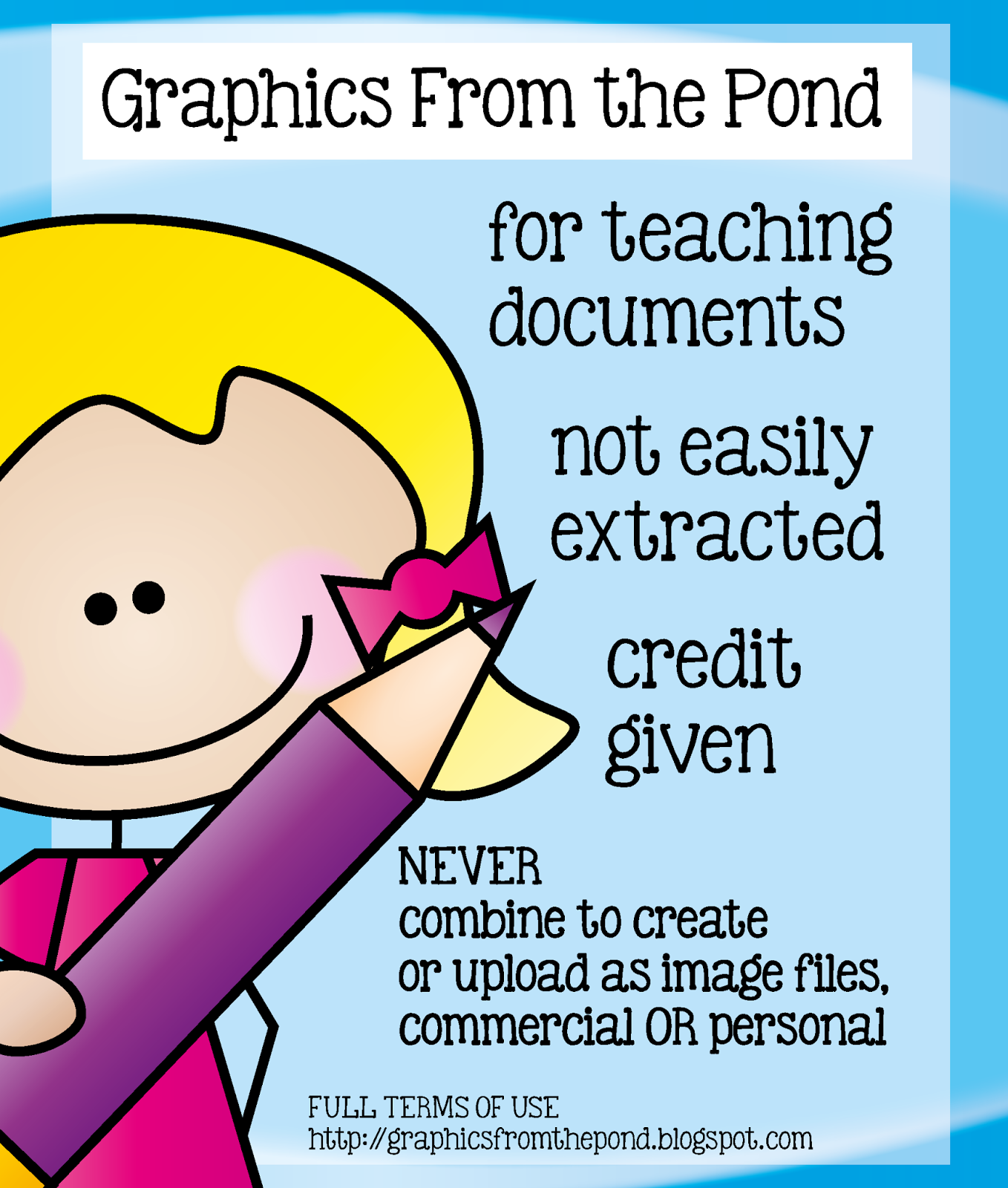 Terms Of Use: Graphics From The Pond