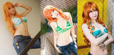 Cosplay Nami One Piece yang Paling Cantik dan Seksi