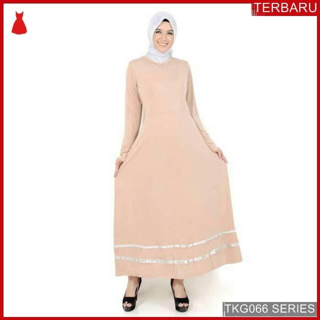 BJK66L14 Long Dress Gamis Murah di BMGShop