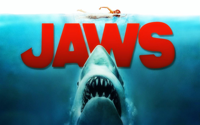 """""""Tubarão"""" (1975), de Steven Spielberg. Com trilha sonora de John Williams."""