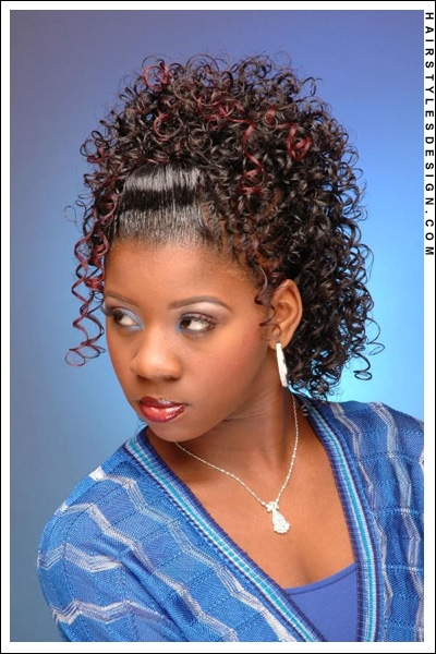 Admirable Ponytail Hairstyles For Black Girls French Fashion Ponytail Short Hairstyles Gunalazisus