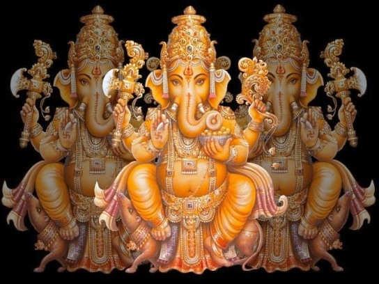 Pari Khambra: Hindu God Shree Ganesh Ji Wallpaper Free