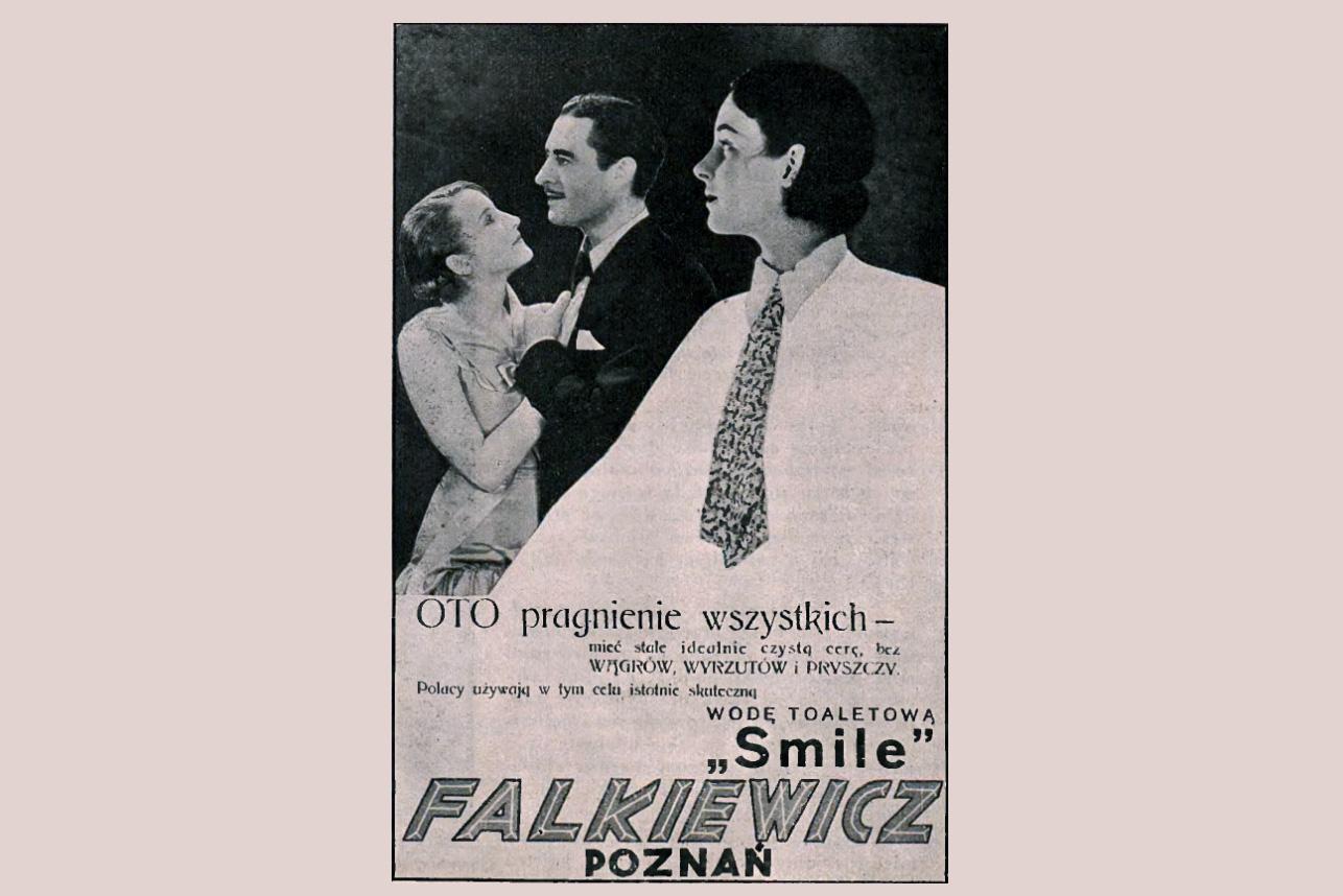 Reklama prasowa, 1931