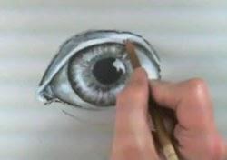 Göz resmi çizim teknikleri -6