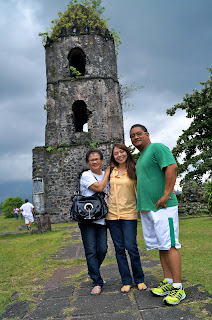 Carlo Olano at the Cagsawa Ruins