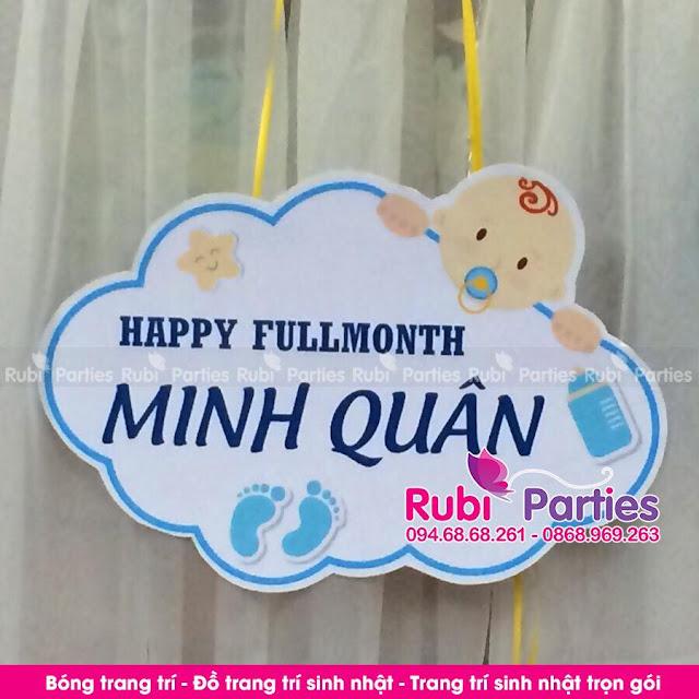Cua hang thiet ke bang ten sinh nhat cho be tai Thanh Xuan
