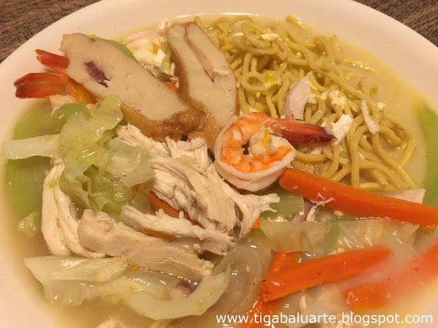 how to cook pancit lomi soup