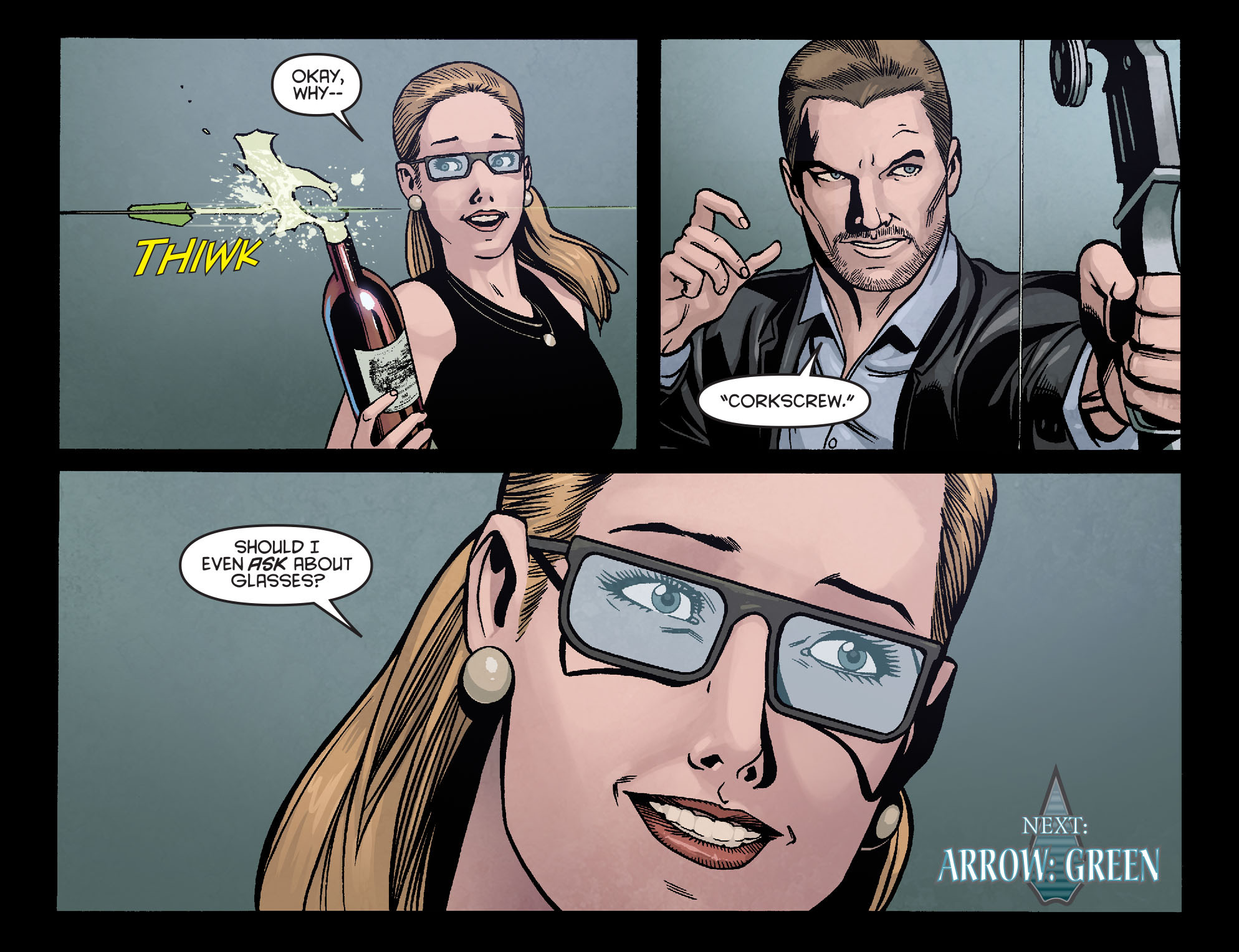 Read online Arrow: Season 2.5 [I] comic -  Issue #16 - 22