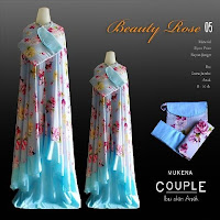 Mukena Couple soft blue