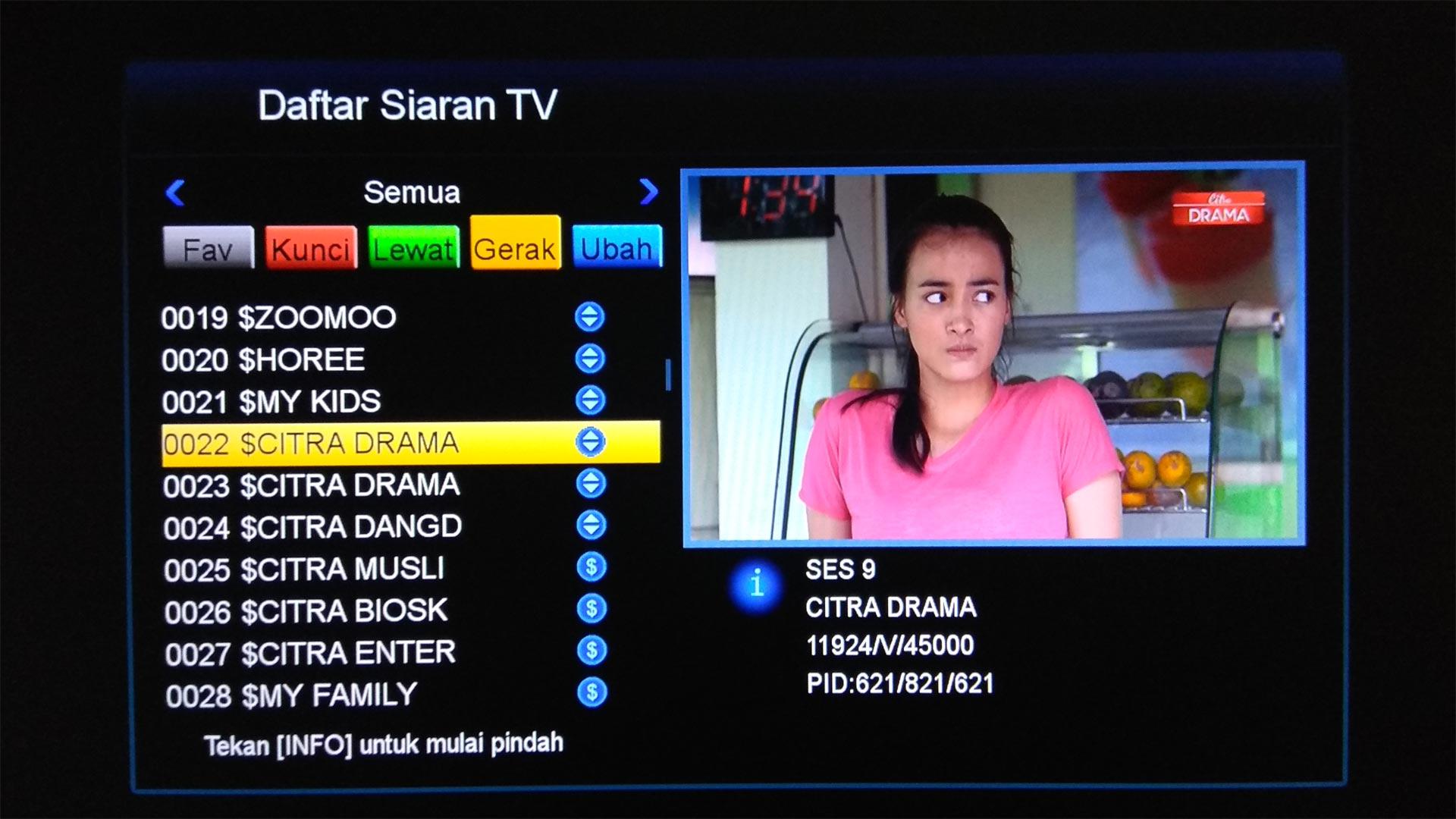 Cara Mengatur Urutan Channel TV Berlangganan