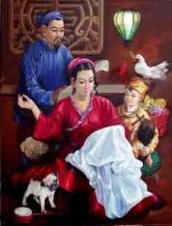 Gia đình thánh gia, gia đình công giáo việt nam