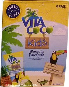 Vita Coco coconut water kids mango and pineapple