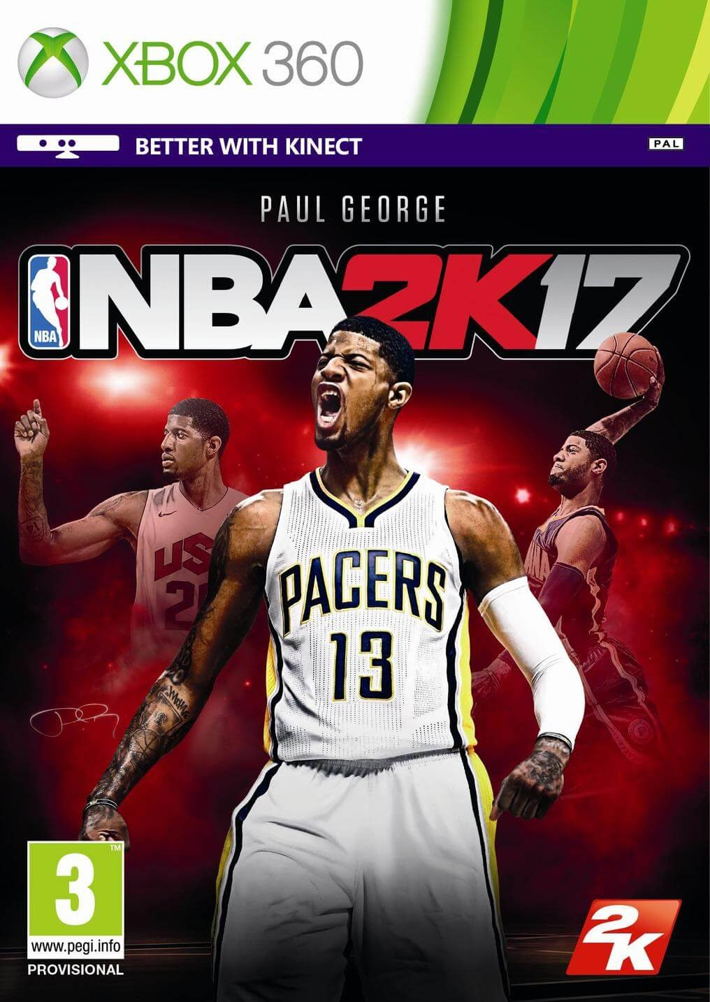 NBA 2K17 ESPAÑOL XBOX 360 Descargar