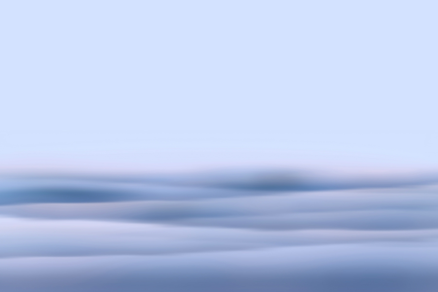 sky or sea, it doesn't matter - feel free. abstract seascape - landscape