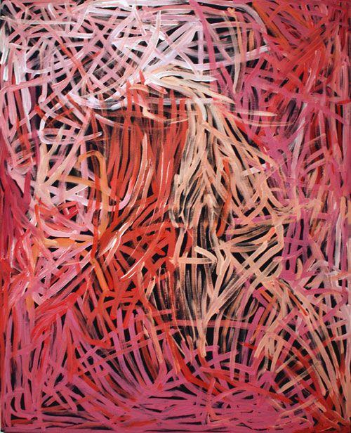 Emily Kame Kngwarreye painting