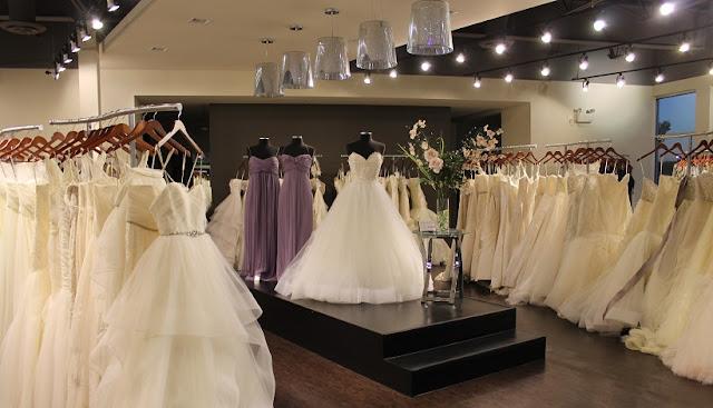 Lugares para comprar vestido de noiva em Los Angeles