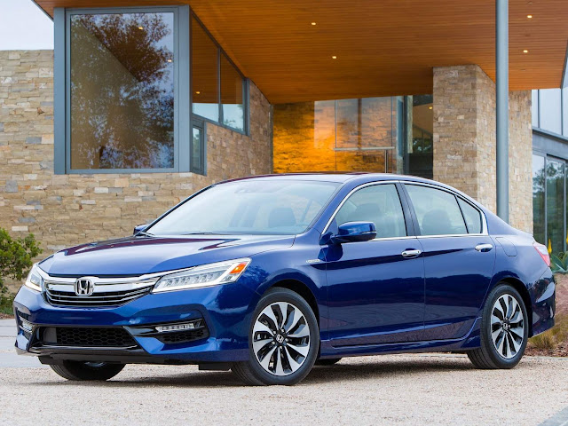 novo Honda Accord Hybrid 2017