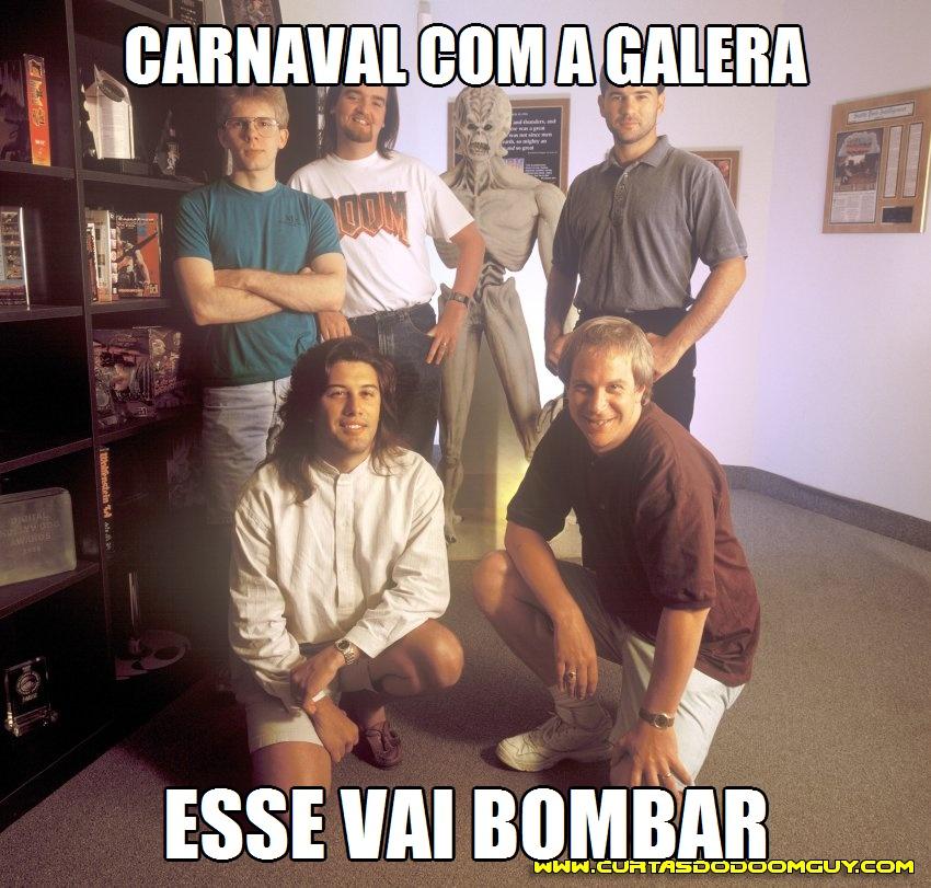 Carnaval com a galera