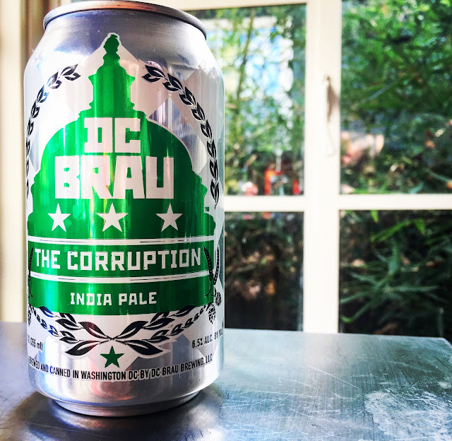 DC Brau Brewing Company's The Corruption IPA