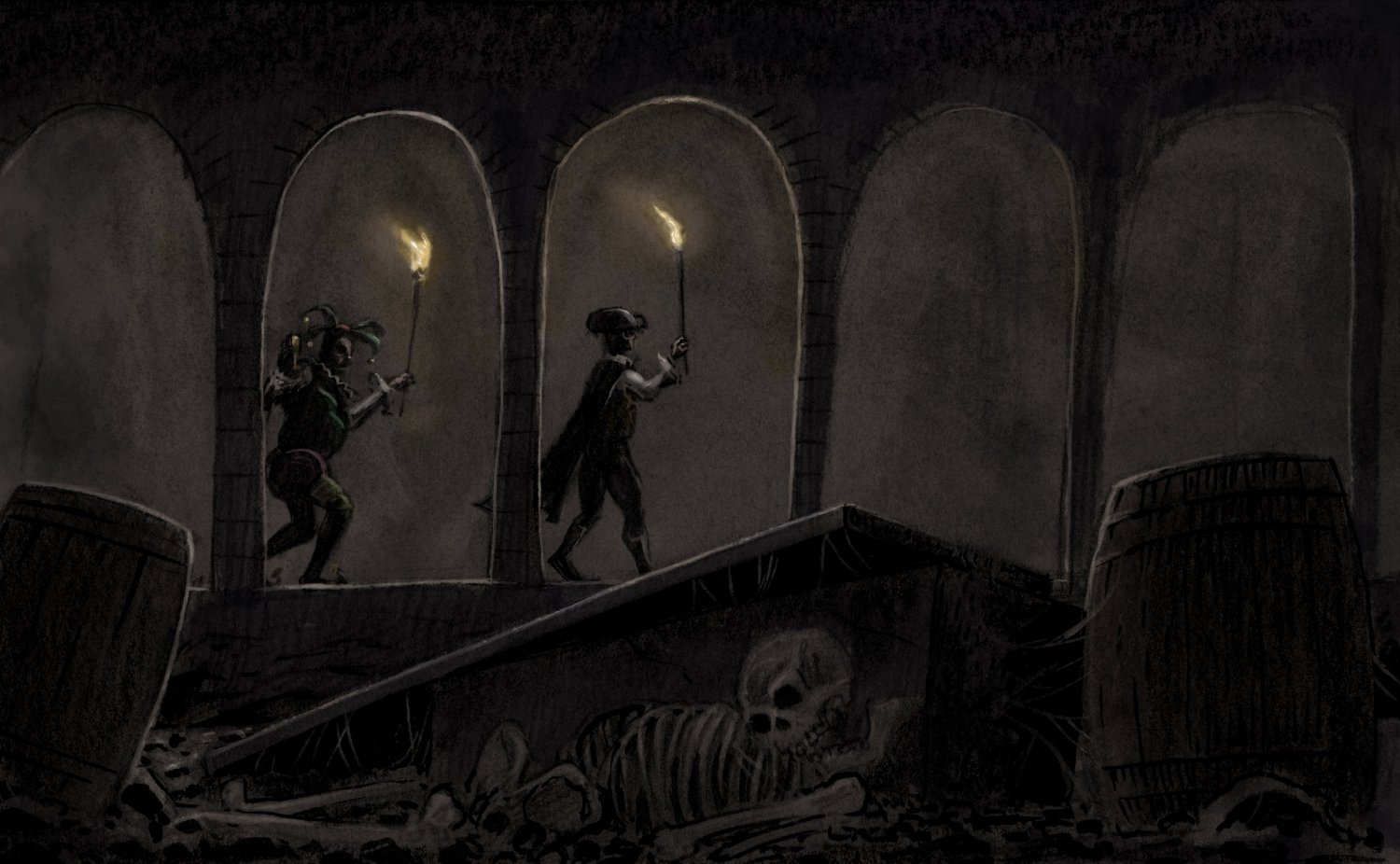 Deceit and revenge in the short story the cask of amontillado by edgar allan poe