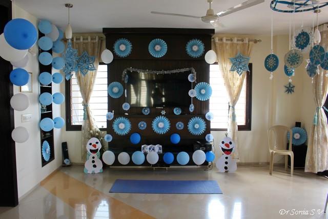 Frozen Birthday Party Ideas Crafts