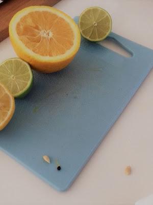 sitrus appelsiini sitruuna passionhedelmä