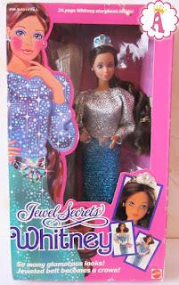 Коллекционная кукла Уитни фирмы Mattel, 1986 год выпуска