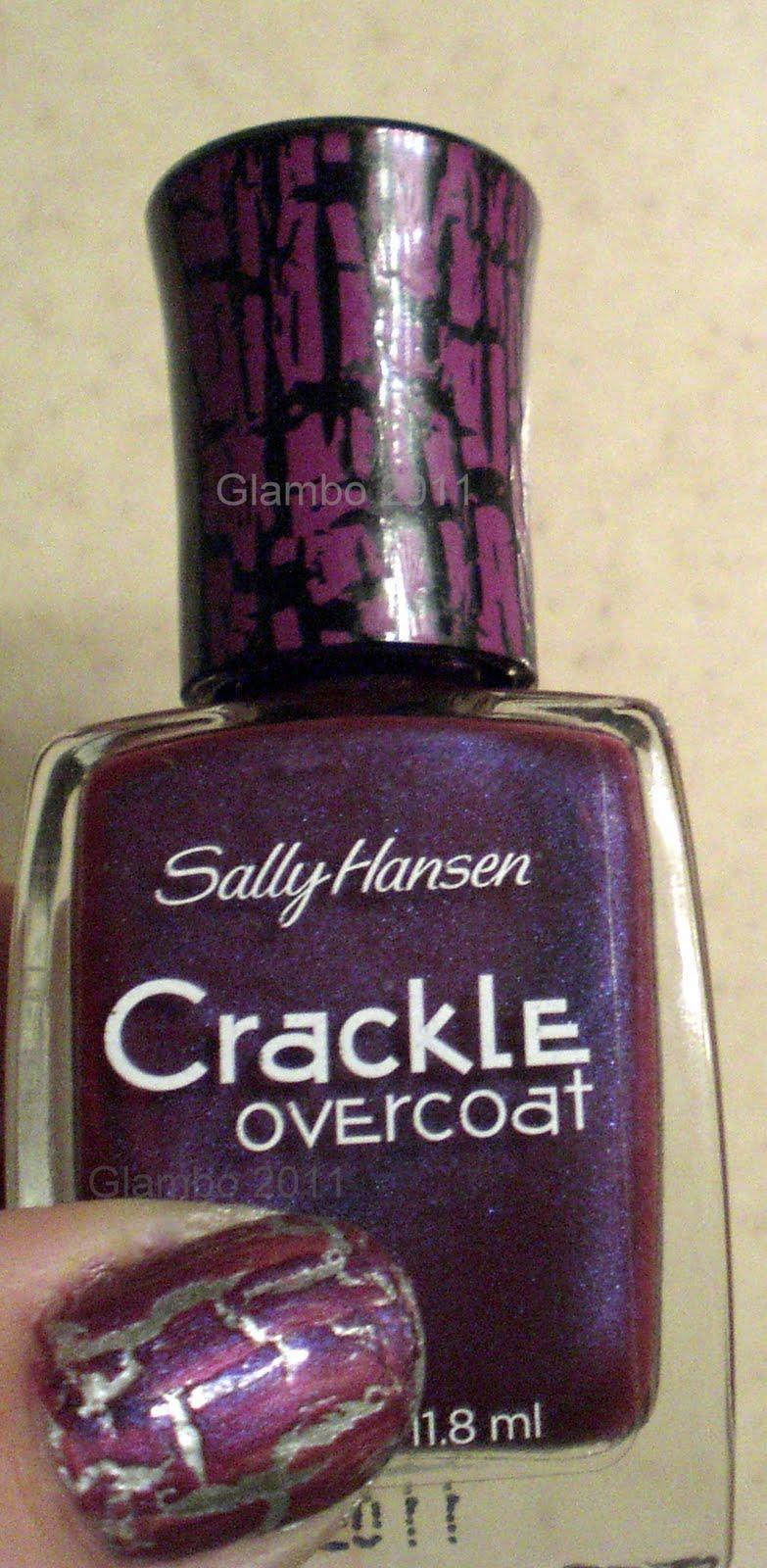 Sally hansen crackle overcoat