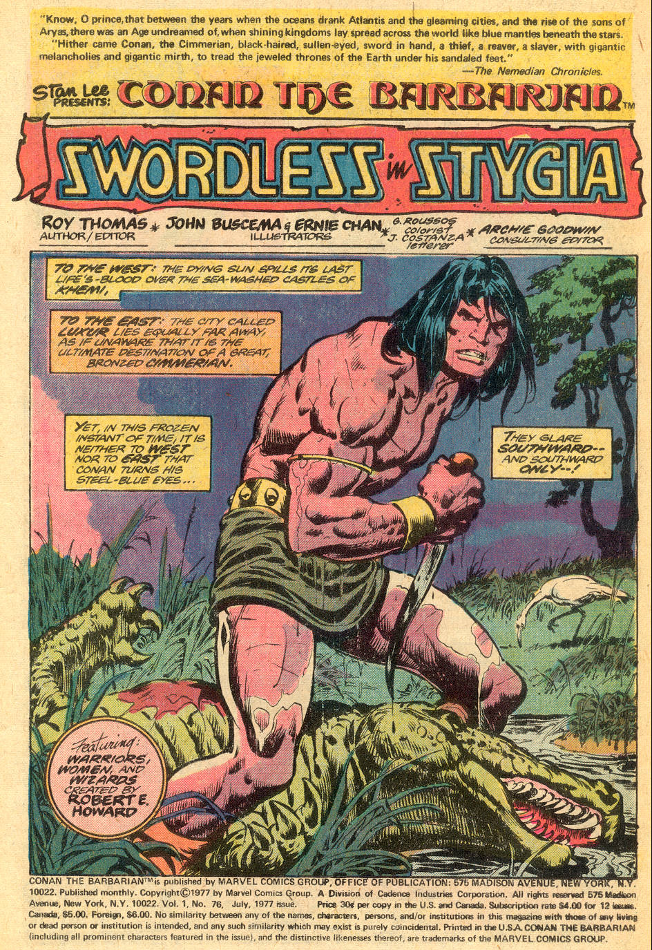 Conan the Barbarian (1970) Issue #76 #88 - English 2